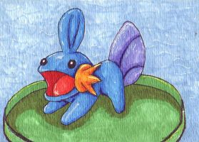 ACEO Mudkip by Zun0