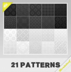 Patterns 28 - Black and White Patterns by Ransie3
