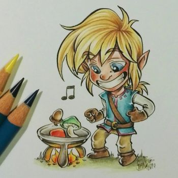 cooking with link by SpankTB