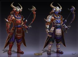 Hachiman Smite Concept by PTimm