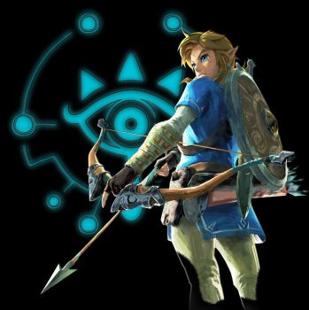 The Legend of Zelda: Breath of the Wild Link by shad0w8