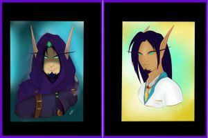 Crowly Portraits by Musing-Zero