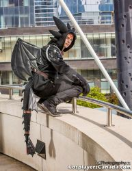 Toothless Fanexpo 2014 Photoshoot by turbo246