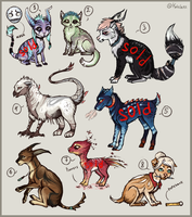 Adoptables [OPEN] by Krizless