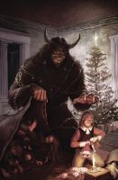 A Krampus In My Stylus by JeffLeeJohnson