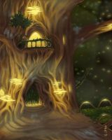 Tree House by GEIKOUart