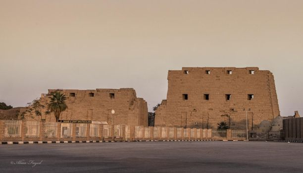 Karnak Temple by Drfayed