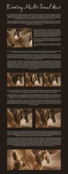 Multi Tonal Hair Tutorial by Lunarlueur