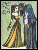 Beauty and the Beast by hairlikeafox