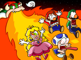 Super Mario Toons - Boo's Bowser Plot by MrBowz