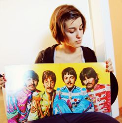 with the sgt. pepper ... LP by ReitaWolf