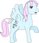 My fifth vector of Wind Whistler, outlined version by Flutterflyraptor