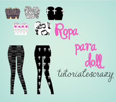 Ropa Para Doll By Tutorialescrazy by tutorialescrazy