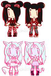 [custom outfits] - Tenshilove by hello-planet-chan