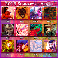 2016 Art Summary by raxgond