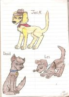 Newsies Dog Form Pg 1 by zybynarx
