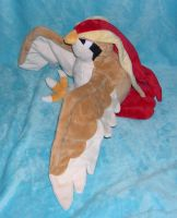 Pidgeot plush by Bladespark
