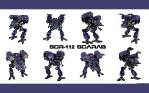 SCR-112 SCARAB TEXTURES 1 by TDBK