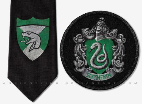Slytherin emblems by AncientKing