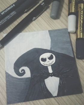 Jack Skellington  by 4O4-ERRoR