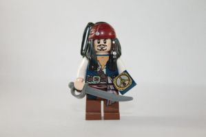 LEGO Jack Sparrow by robchange