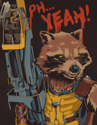 Rocket Raccoon: Guardians of the Galaxy by SuperScoundrel