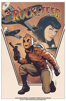 The Rocketeer - Ready for Take-Off by ChrisEvenhuis