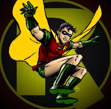Robin the Boy Wonder by RamonVillalobos