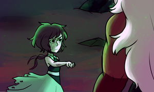 SU- ''Lapis fuse with me'' redraw by ShounenRaccoon