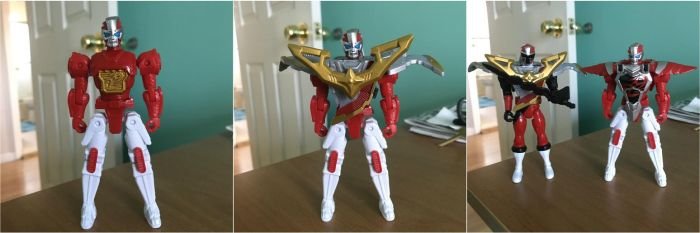 Robo Red Zord by SentaiFive