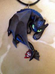 Spoilers Edition Toothless by Gatobob