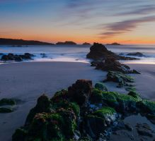 Pescadero Sunset by FeralWhippet