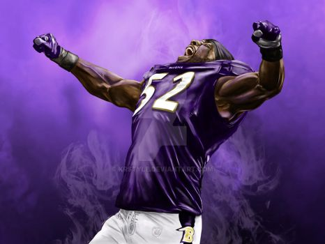 Ray Lewis by KRStyle