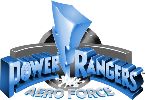 Power Rangers Aero Force logo (90's style) by DerpMP6