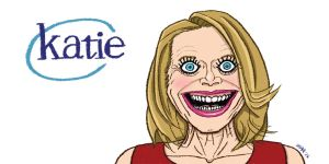 Katie Couric by gaudog