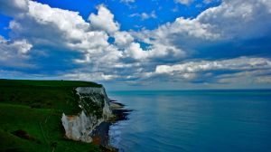 White Cliffs of Dover Sea/Skyscape by lydz25