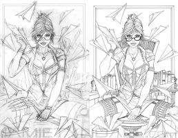 Zenescope Chicago Comic Con exclusive - progress by jamietyndall