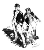 Commission - Dylan Dog by TheRamf