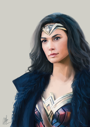 Wonder Woman [Speedpaint] by rilemee