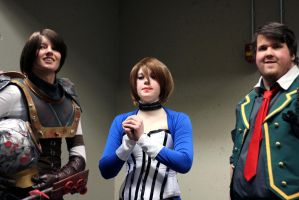 Bioshock Series Group Shot by geekypandaphotobox