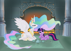 AroundTheBendFireplace by Aealacreatrananda