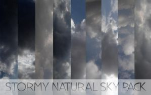 Stormy Sky Natural Pack by arca-stock