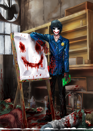 Bloody Painter X Male Reader! Chp  1 by AnimeXArtXMusic82003 on
