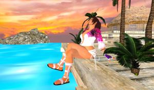 Relaxing in the Sunset by Stylistic86