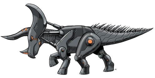Robosaurs: Tricerabot by Transypoo