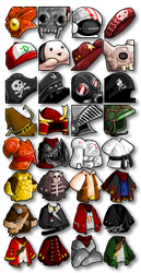 Male Armor Icons by KupoGames