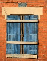 Old Window 1 by stock-photo