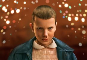 Eleven (Stranger Things) by kaitlincooper
