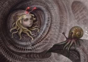 Spiral inhabitants by Sugarflesh