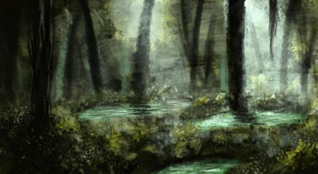 Forest by Abstractivity-Art